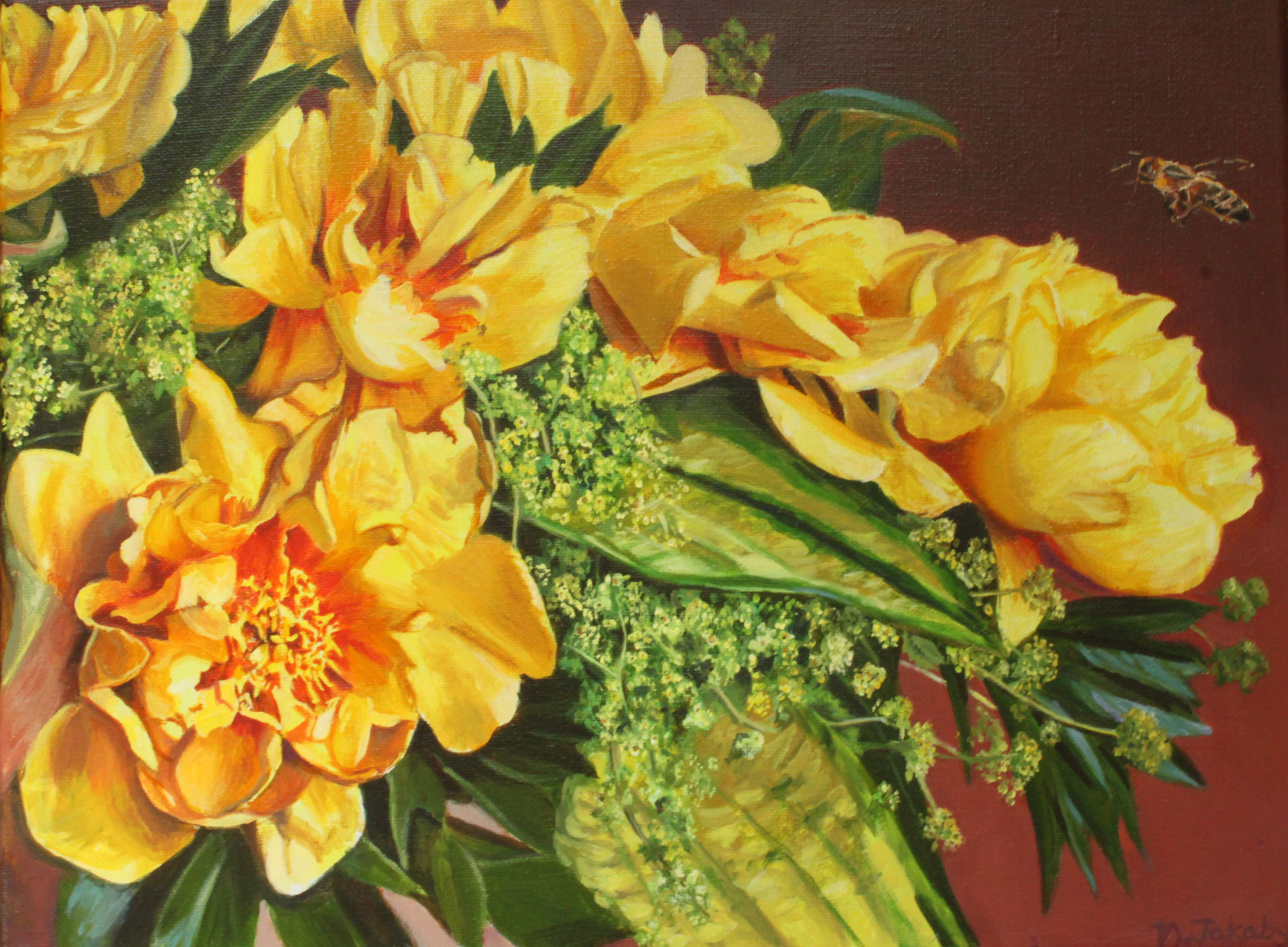 Enjoy The Gallery Of My Latest Paintings At Right
